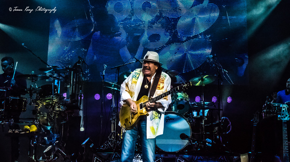 Santana @ Veterans Memorial Coliseum