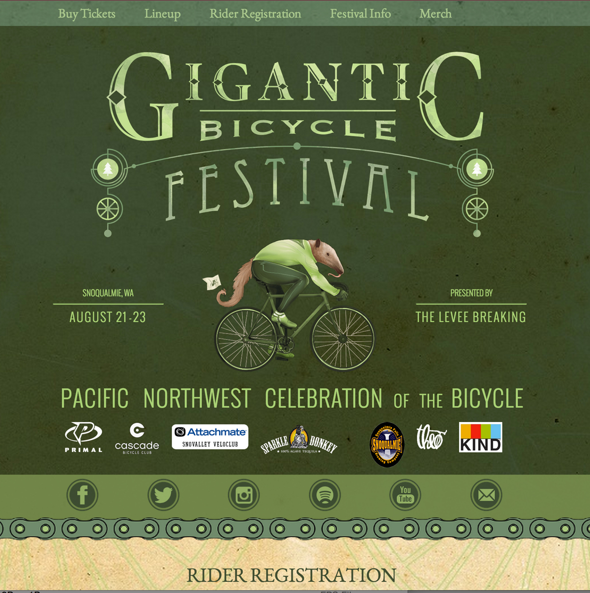 Gigantic Bicycle Festival | Centennial Fields Park